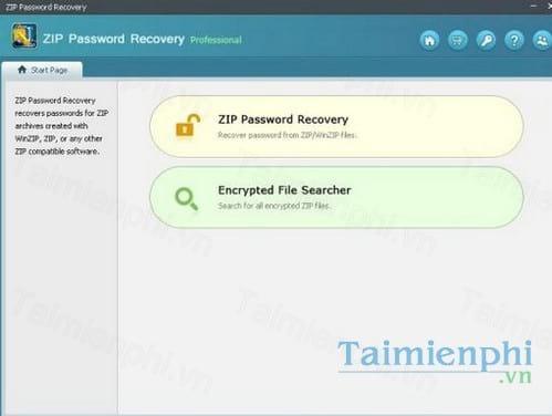zip password recovery professional
