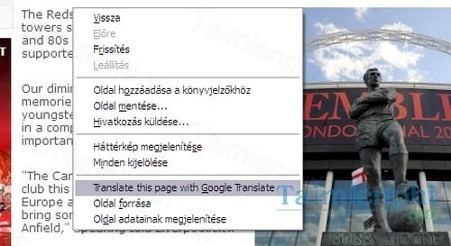 google translate for firefox