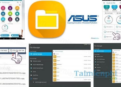 asus file manager cho android