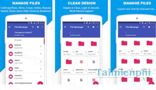 file manager by mobile clean system lab cho android