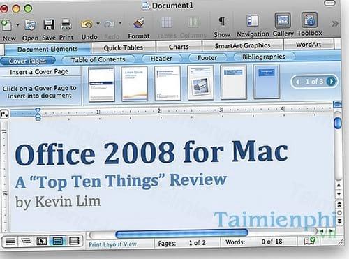 download word 2008 cho mac