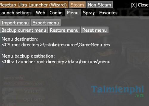 counter strike ultra launcher