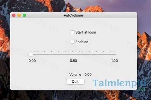 autovolume for mac