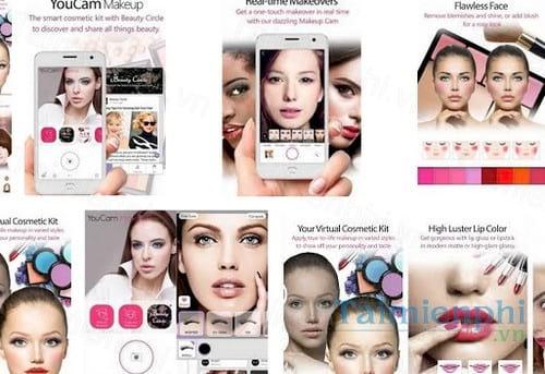 Download Youcam Makeup Makeover for Windows PC Mới nhất