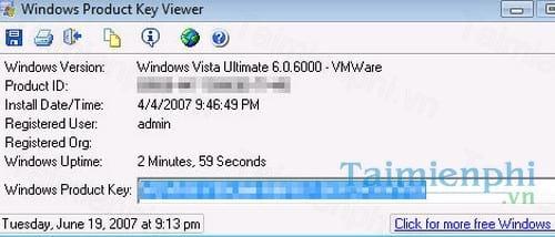 microsoft windows product key viewer