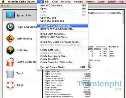 yosemite cache cleaner for mac
