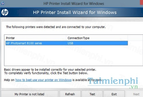 hp printer install wizard for windows 7