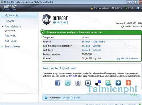 agnitum outpost security suite free 64 bit