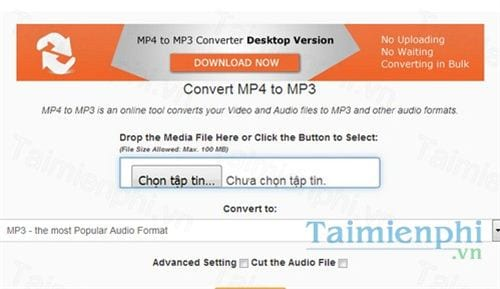 mp4 to mp3 online