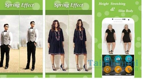 spring effect cho android