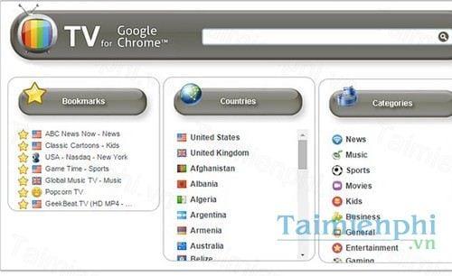 tv for google chrome