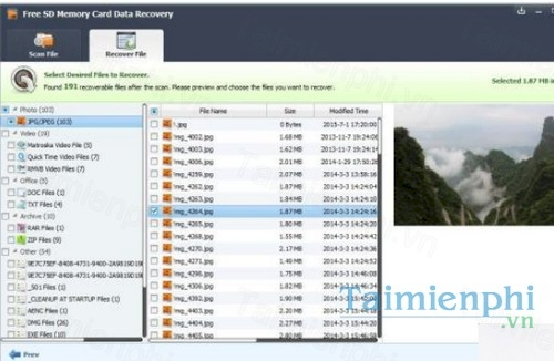 free sd memory card data recovery