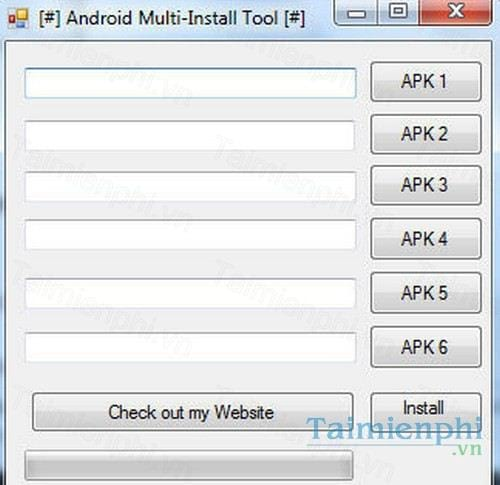android multi install tool
