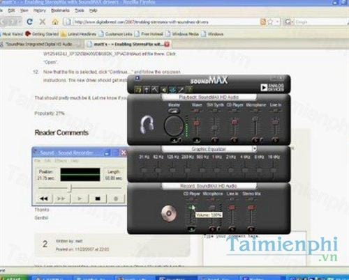 Windows and android free downloads: soundmax driver for windows.