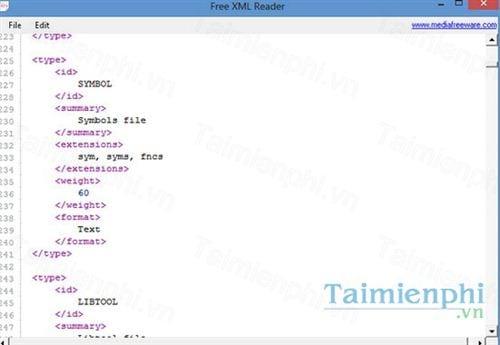 free xml reader