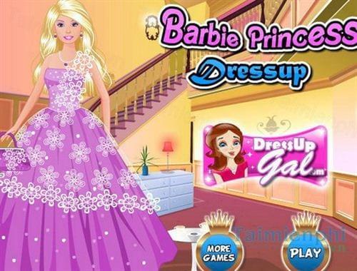 barbie princess dress up