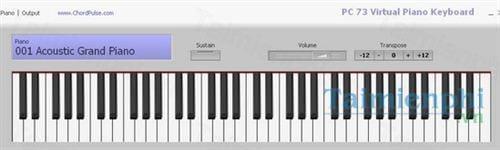 pc 73 virtual piano keyboard