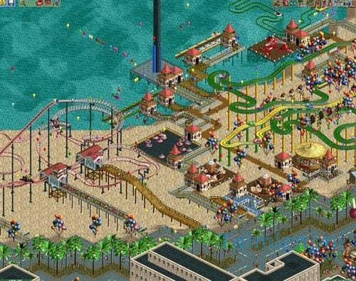 Download RollerCoaster Tycoon Cho Android - Game mô phỏng