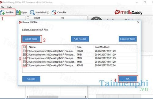 Download MailsDaddy NSF to PST Converter 1 0 - Chuyển file