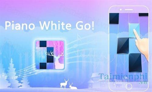 piano white go