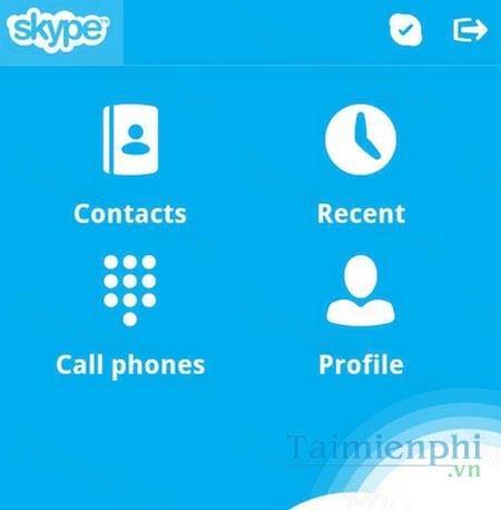 skype cho blackberry