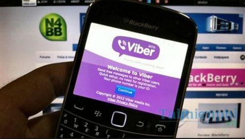 viber cho blackberry