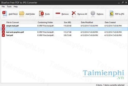 bluefox free pdf to jpg converter