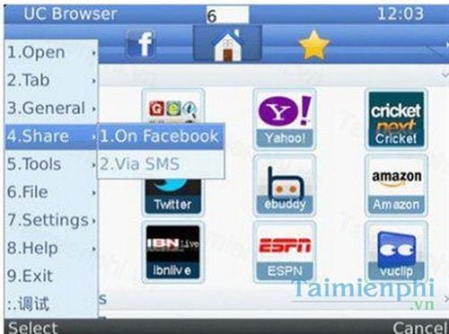 uc browser cho blackberry