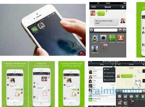 wechat for iphone