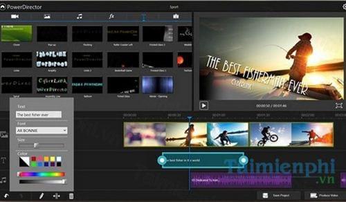 powerdirector mobile video editor