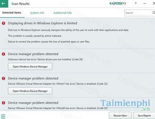 Download Kaspersky System Checker 1 2 1 596 (2018 06 14) - Phát hiện v