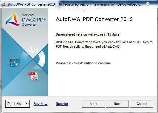 AutoDWG PDF Converter