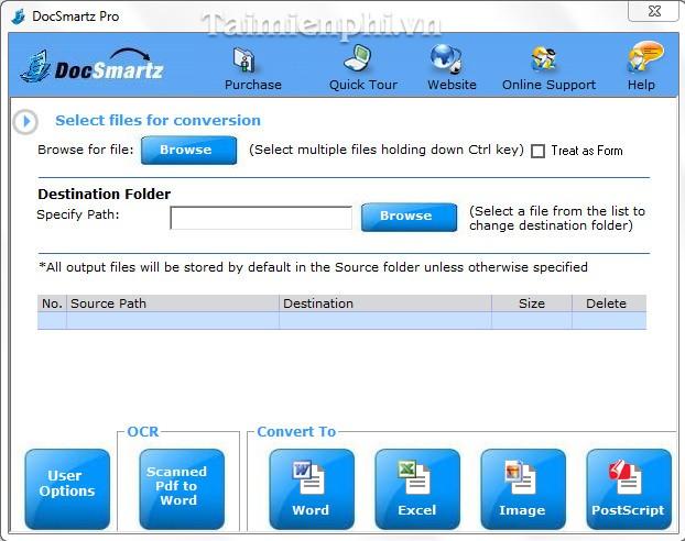 Docsmartz PDF Converter Pro