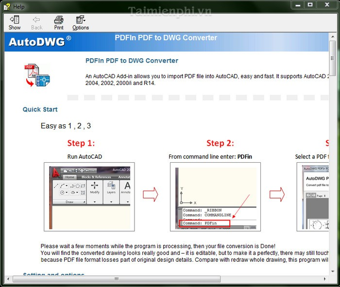 PDF to DXF Converter 2012