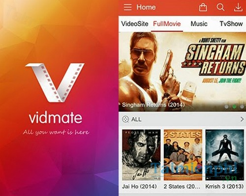 VidMate for Android