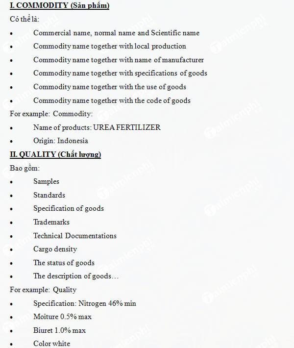 Cách viết hợp đồng Xuất Nhập Khẩu bằng Tiếng Anh