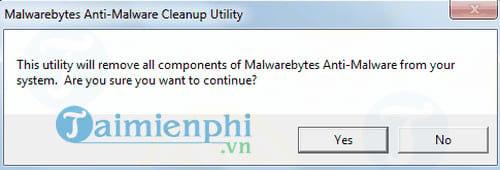 Malwarebytes Anti Malware Cleanup Utility