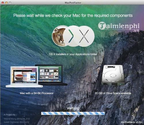 MacPostFactor for Mac