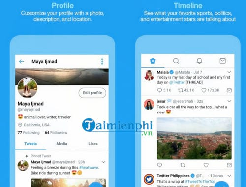 Twitter Lite cho Android