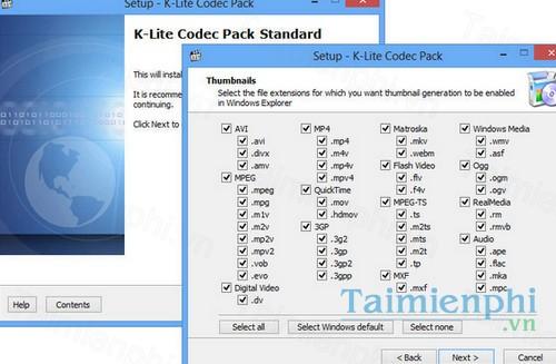 K lite Codec Pack Standard