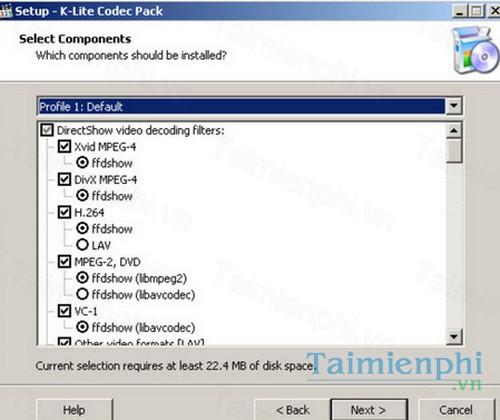 K Lite Codec Pack Basic